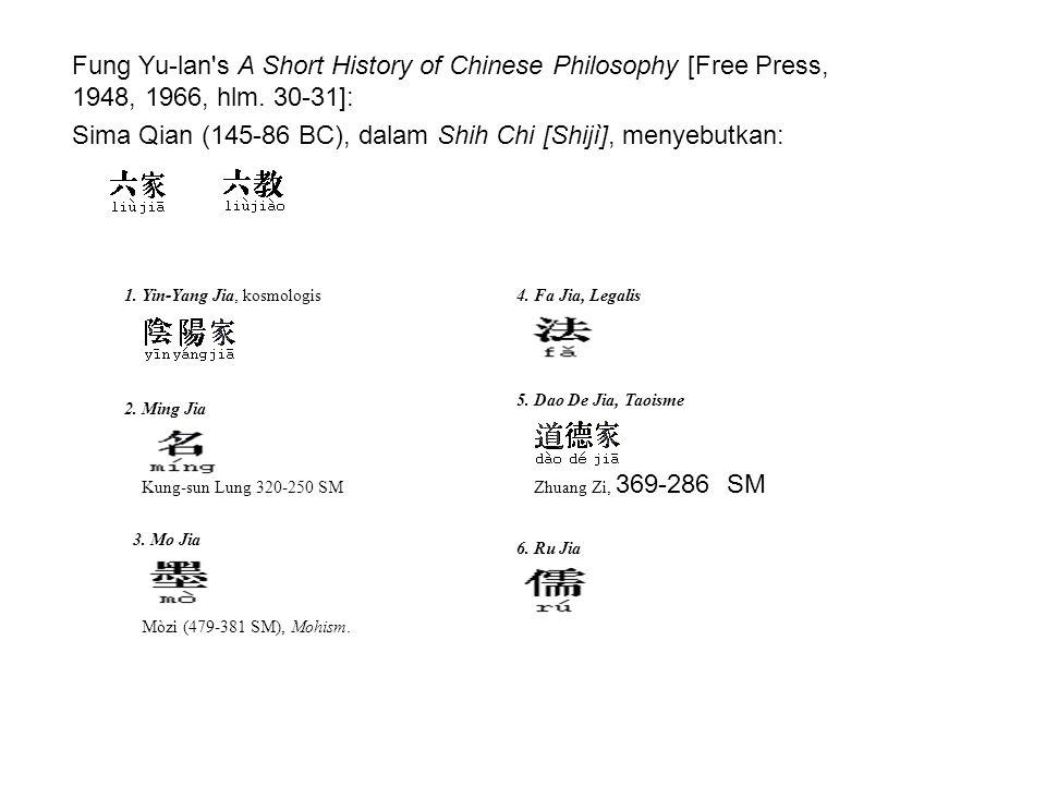 Sima Qian (145-86 BC), dalam Shih Chi [Shijì], menyebutkan: